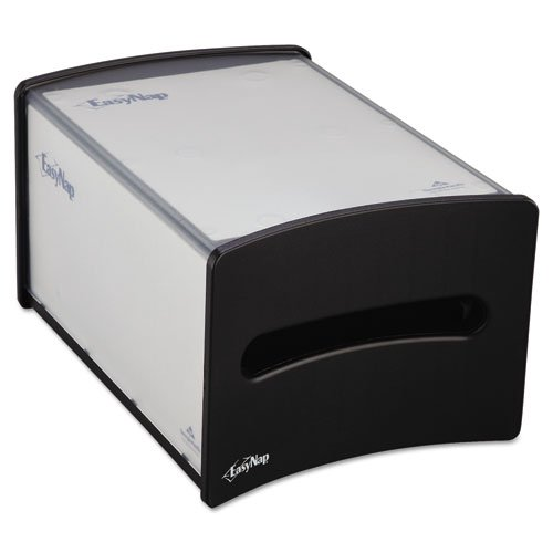 Georgia Pacific Professional Countertop Napkin Dispenser, M-Window, 9 1/4x13 5/8x7 1/4, Black - Includes one each.