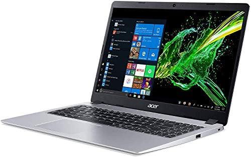 "2020 Acer Aspire 5 Slim 15.6"" FHD Laptop Computer, AMD Ryzen 3-3200U CPU, 16GB RAM, 512GB PCIe SSD, Backlit Keyboard, AMD Radeon Vega 3 Graphics, HD Webcam, Win 10S, Silver, 32GB SnowBell USB Card WeeklyReviewer"