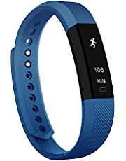 Fitness Tracker,Teslasz T115 Bluetooth 4.0 Sleep Monitor Calorie Counter Pedometer Sport Activity Tracker for Android and iOS Smart Phone