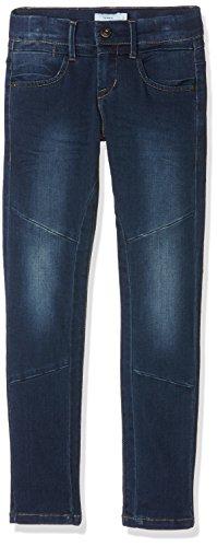 NAME IT Nittida Reg/XX SL Dnm Pant Nmt Noos, Jeans Niñas Azul (Dark Denim)