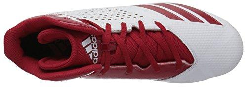 Adidas Originaler Mænds 5,5 Stjerne Midt Fodbold Sko Sort / Strøm Rød / Power Rød