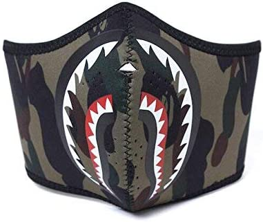 Amazon.com: A Bathing Ape Bape camuflaje verde Shark ...