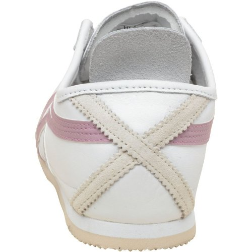 Onitsuka Tiger Damen Mexico 66 Leder Sneakers Weiß/Flieder - 4 UK 4 ...