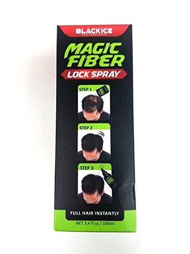 Magic Fiber Hair Building Lock Spray - Full Hair Instantly
