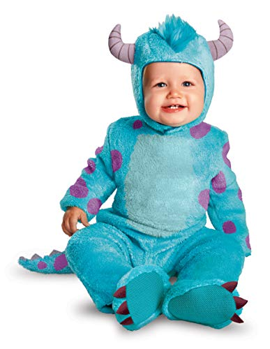 Baby Costumes Online (Disguise Costumes Disney Pixar Monsters University Sulley Classic Infant, Blue/Purple, 6-12)
