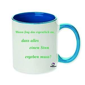 Taza con impresión como en el artículo de regalo Cumpleaños Té Taza de café, cerámica, Chef de trabajo oficina