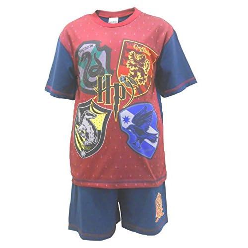 4919f0f04 Get Wivvit Pijama Shortie Harry Potter Gryffindor Niños De alta calidad