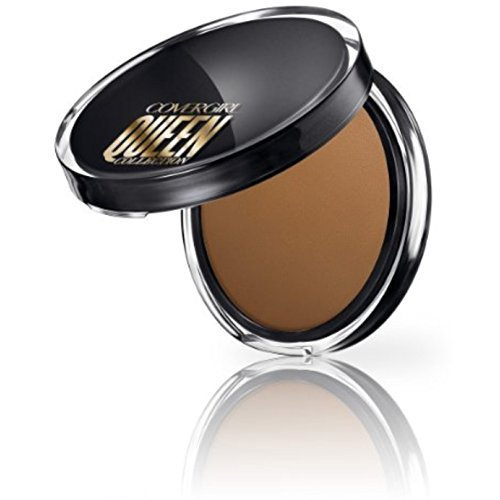 (CoverGirl Queen Collection Lasting Matte Pressed Powder, Light Golden 0.37 oz (Pack of 3) )