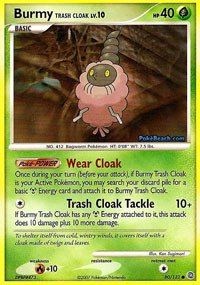 Pokemon - Burmy Trash Cloak (80) - Secret Wonders ()