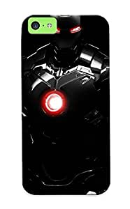 Illumineizl Sanp On Case Cover Protector For Iphone 5c (iron Man) For Christmas Day's Gift