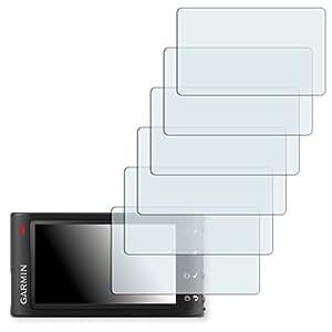 6x Golebo Semi-Matt protectores de pantalla para Garmin Dash Cam 30/35 - (efecto antirreflectante, montaje muy fácil, removible sin residuos)