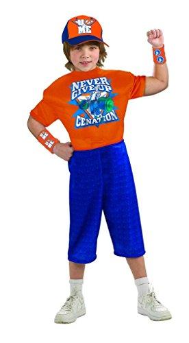 (World Wrestling Entertainment Deluxe Child's Muscle Chest Costume, John Cena)
