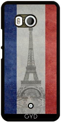 Funda para Htc U11 - Torre Eiffel Con El Indicador Francés by BruceStanfieldArtist