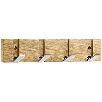 Mounted Coat Rack Mclife Furniture 4-Hook Folding Walls Garment Hooks for Home Decoration Wall Hangings