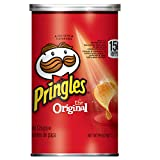 Pringles The Original Potato Crisps - Perfectly Seasoned Salty Snack, Game Day Party Food (12 Cans)