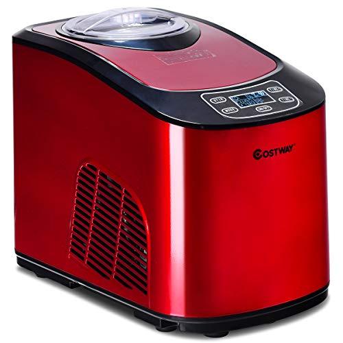 red ice cream maker - 7