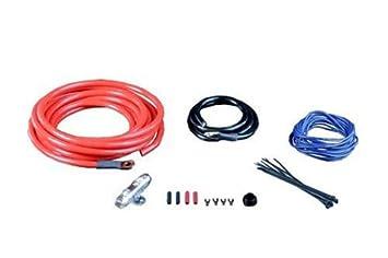 monster 300 silver and blue 500 watt amp kit mpc p300 bap500 rh amazon ca Stereo Wiring 4 Gauge Amp Wiring Kit
