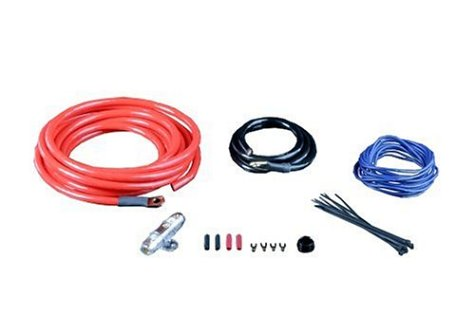 amazon com monster 300 silver and blue 500 watt amp kit mpc p300 rh amazon com 4 GA Amp Wiring Kit 4 GA Amp Wiring Kit