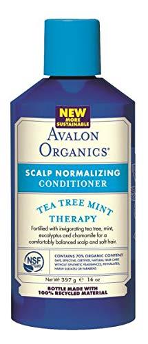 Avalon Organics Tea Tree Mint Scalp Normalizing Conditioner, 14 ()
