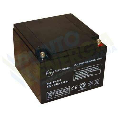 Batteries AGM 12V 24Ah Luminor