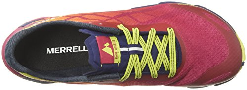 Bare Persian Flex Merrell Woman Access Scarpe fitness Red da FWqaW7xd