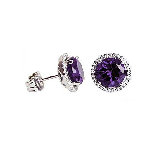 Swarovski Crystals Birthstone Stud Earrings product image