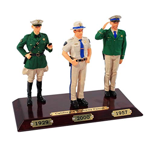 Limited Edition Resin Law Enforcement Figures - California Highway Patrol