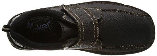 Svart Rieker 01 noir 05351 Loafers Menns IUAxqfnHUw