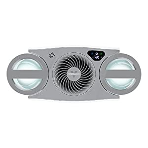 Vornado EVDC500 Energy Smart Evaporative Humidifier with Automatic Shut-off, 2 Gallon Capacity, LED Display