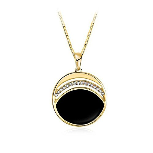 Darkey Wang Woman Drops Haiyangzhixin New Crystal Pendant retro Classic Black - Watch Channel Marine