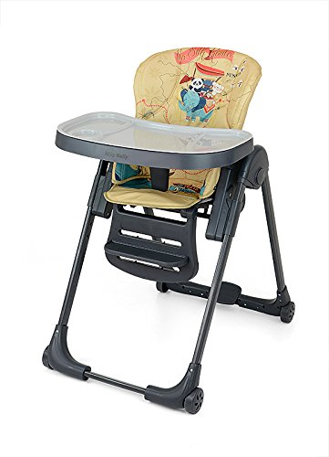 MILLY MALLY 23661 Milano Panda High Chair, Multi-Colour PM Investment Group Sp. z o.o. Sp. k.
