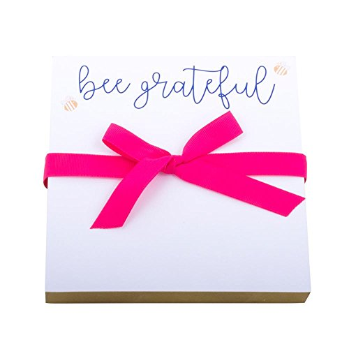 Mainstreet Collection Bee Grateful 6x6 Notepads