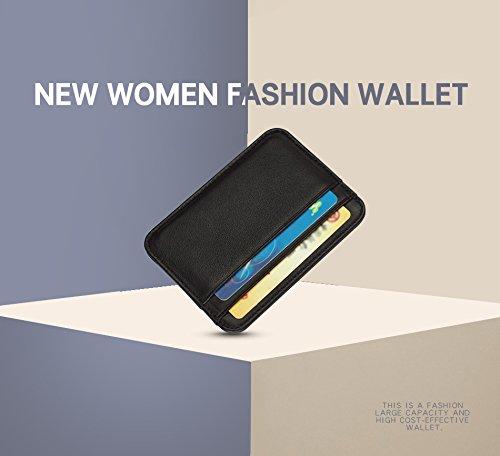 カードパッケージファッションカードホルダー本革メンズスリムフロントポケットカードケースクレジットスーパーシンTrave財布 B07FLM28CQ