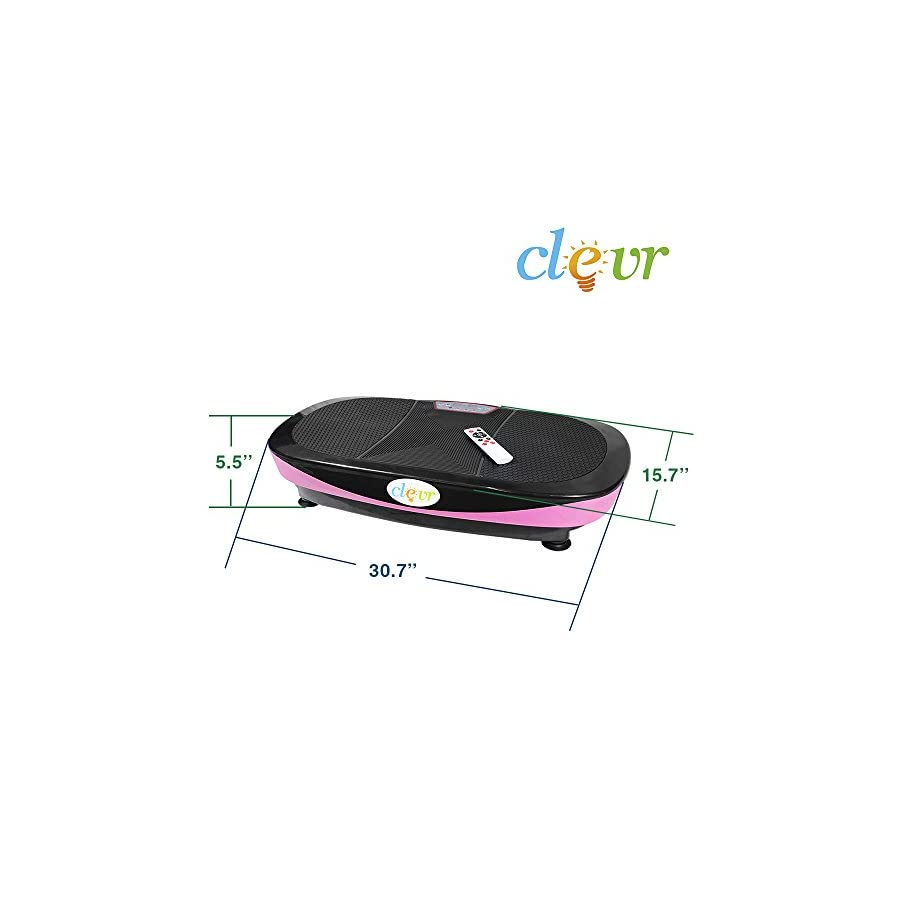 New Clevr Dual Motor Full Body Oscillation Vibration Platform Fitness Machine