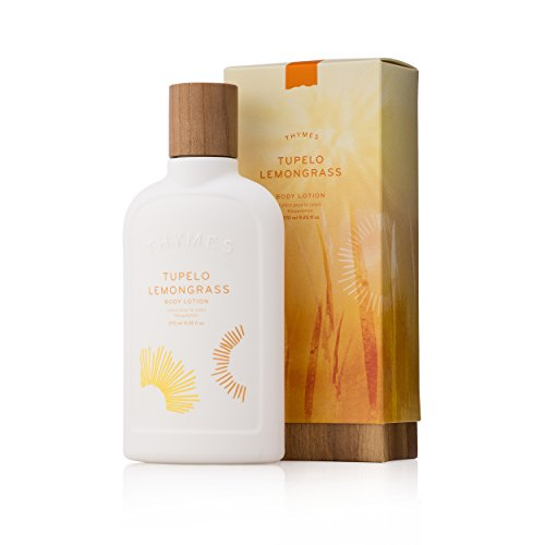 Thymes - Tupelo Lemongrass Body Lotion - With Moisturizing Shea Butter, Vitamin E, and Sunny Citrus Scent - 9.25 oz
