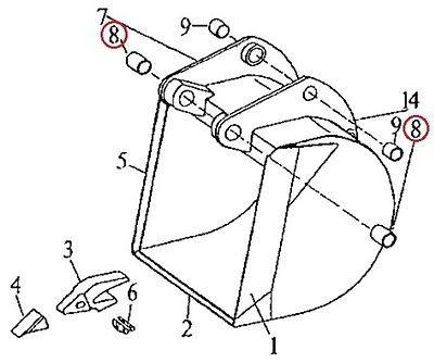 John Deere Backhoe Parts - 3