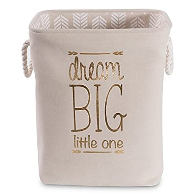"""Taylor Madison Designs""""Dream Big Little One"""" Hamper in Natural/White : Baby"""