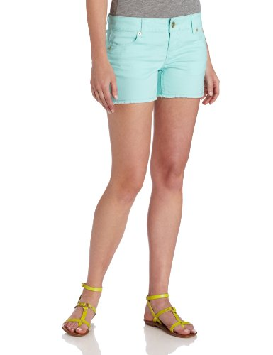 Colored Denim Short - U.S. Polo Assn.. Juniors Island Colored Denim Short, Marine Frost, 9
