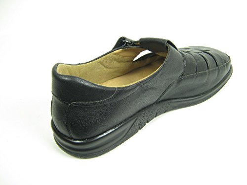 Ganter KURT VARIO SENSITIV 1-256731-01000 Herren Slipper, Schwarz 41 EU