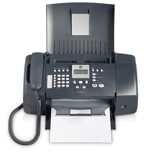 HP FAX 1250 Fax Machine (Black) by HP