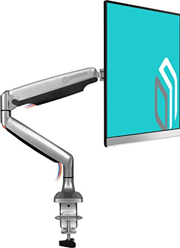 ONKRON Monitor Desk Mount for 23 to 32-Inch LED LCD Flat Monitors up to 19.8 lbs G100 (Spring Tension Screen)