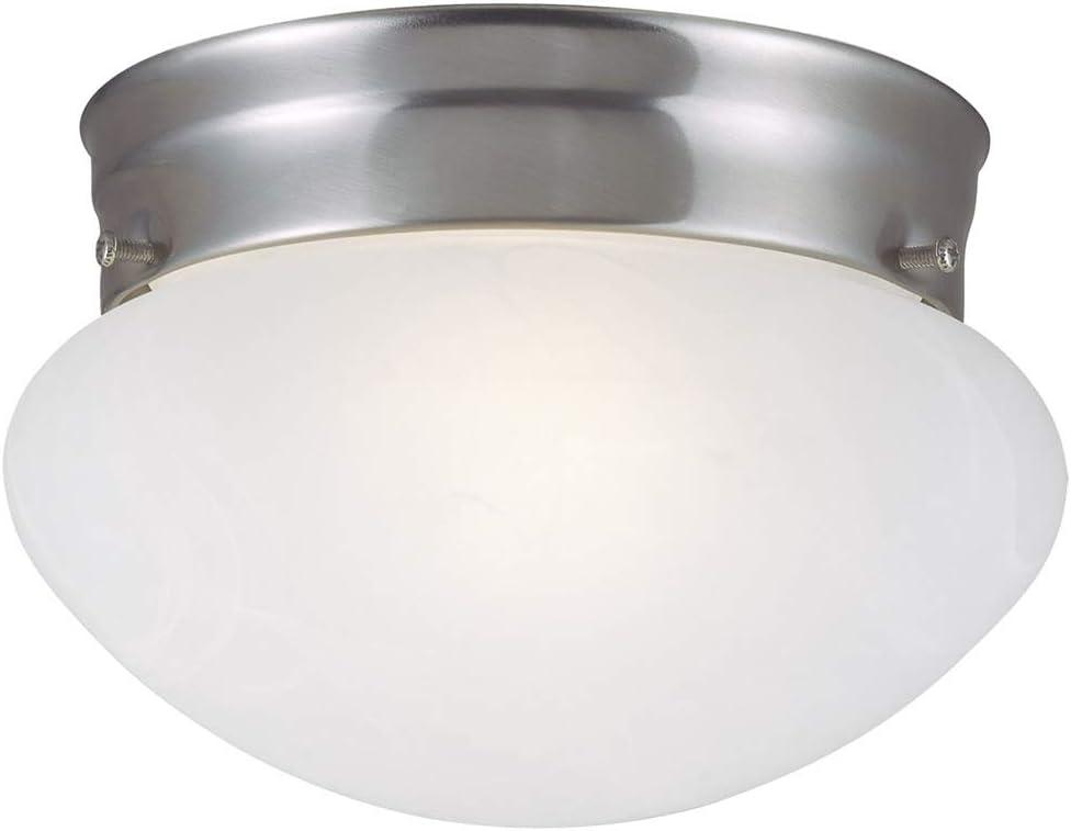 Design House 511568 Millbridge 2 Light Ceiling Light, Satin Nickel