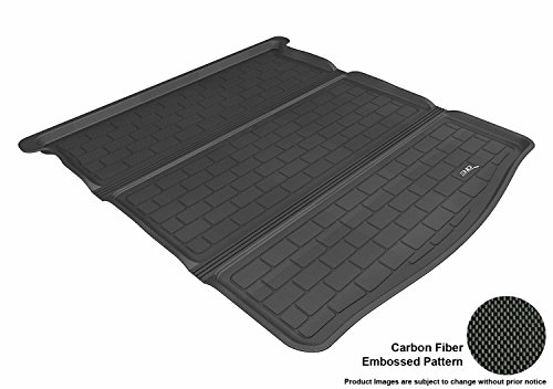 3D MAXpider Cargo Custom Fit All-Weather Floor Mat for Select Mazda6 Models - Kagu Rubber (Black) ()