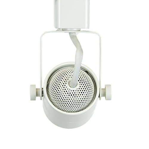 Direct-Lighting Brand H System 3-Lights GU10 7.5W LED (500 lumens Each) Track Lighting Kit White 3000K Warm White Bulbs Included HT-50154L-330K (White) by Direct-Lighting (Image #5)