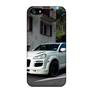 Protective Tpu Case With Fashion Design For Iphone 5/5s (porsche Cayenne)