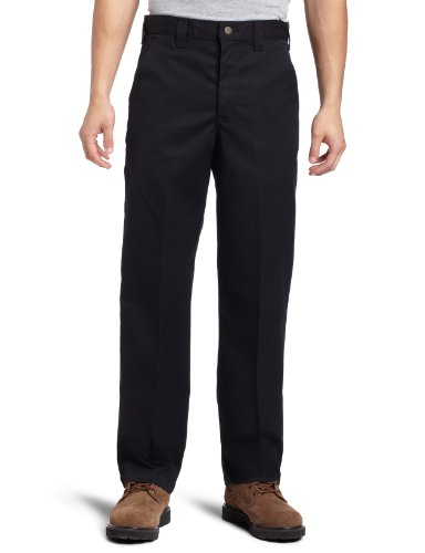 Carhartt Men's Blended Twill Work Chino,Black,32 x 30