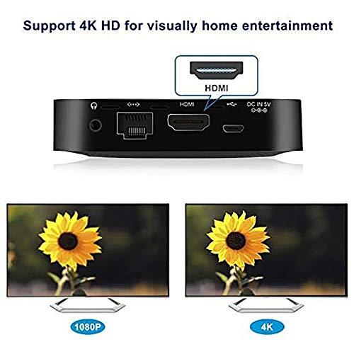 GUZILA Fanless Mini PC,Intel x5-Z8350 HD Graphics Mini Computer,Windows 10 64-bit,DDR3L 2GB/32GB eMMC/4K/2.4G/5G WiFi/BT 4.2