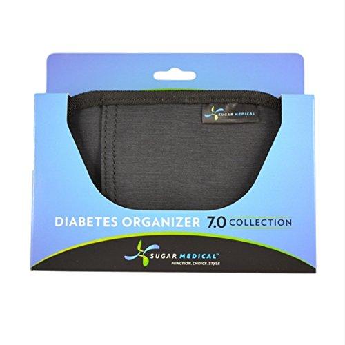 Sugar Medical Universal Diabetes Supply Bag (Charcoal)