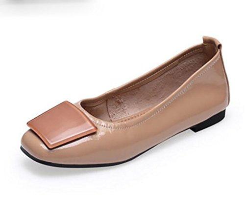 Zapatos de Mujer, Zapatos Cómodos Antideslizantes, Zapatos Individuales, Zapatos Planos, Zapatos de Guisantes, Zapatos de Abuela A