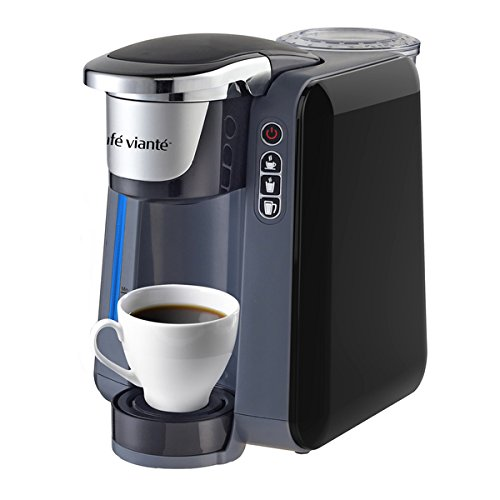 Cafe Viante AMERIKANA Single-serve Coffee Brewer for Keurig Pods - Spacemaker Digital Thermal Coffee Maker